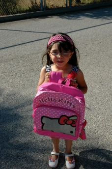 FEP School Supply Drive beneficiary.