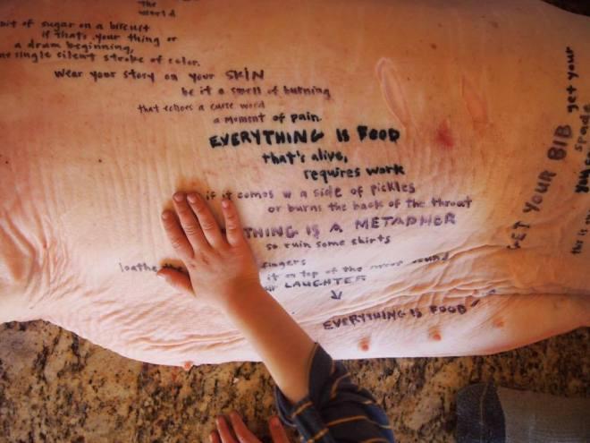 pig-writing